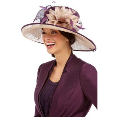 Jacques Vert Floral Delights Occasion Hat- at Debenhams Mobile