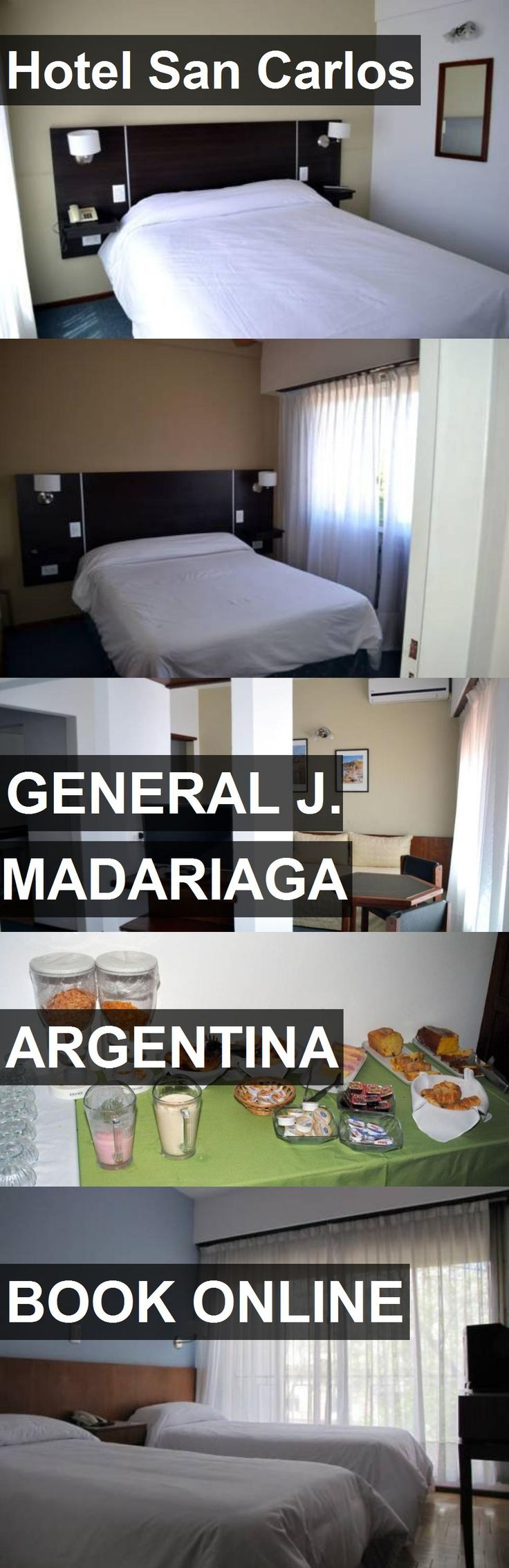 Hotel Hotel San Carlos in General J. Madariaga, Argentina. For more information, photos, reviews and best prices please follow the link. #Argentina #GeneralJ.Madariaga #HotelSanCarlos #hotel #travel #vacation