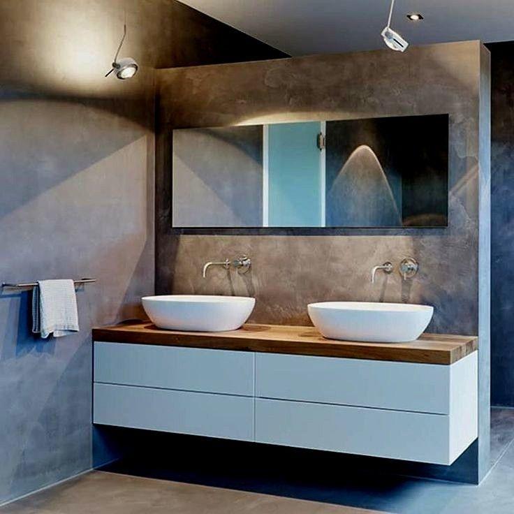 Badezimmer Ideen Doppelwaschbecken Badezimmer Moderne