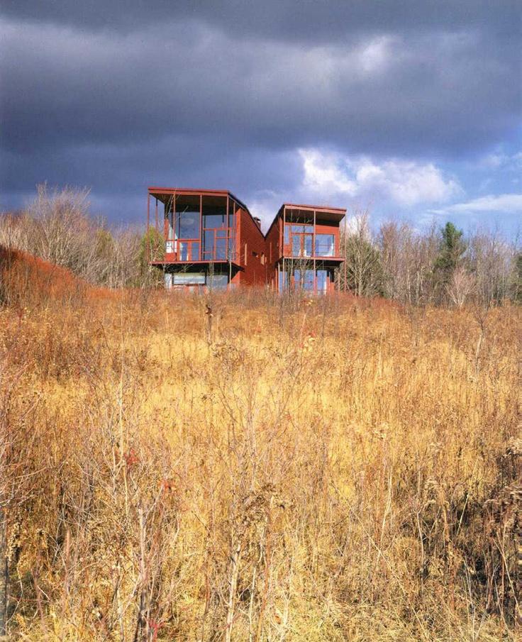 Y House | Steven Holl. Catskills, NY. 1999