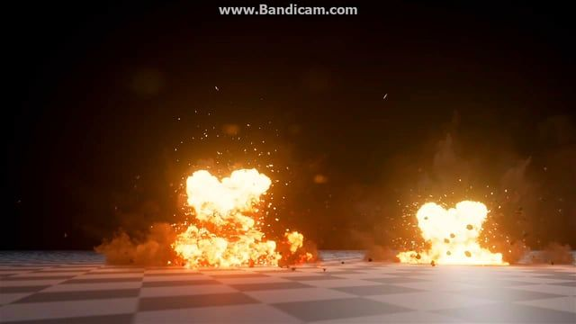 Unreal Engine 4 Particle effect - Explosion / Fire FX