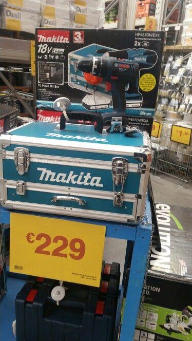 Makita 18V Cordless Drill.