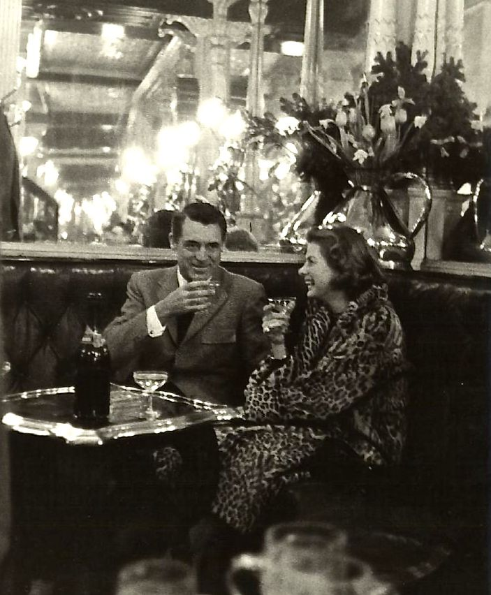 Cary Grant & Ingrid Bergman c.1958