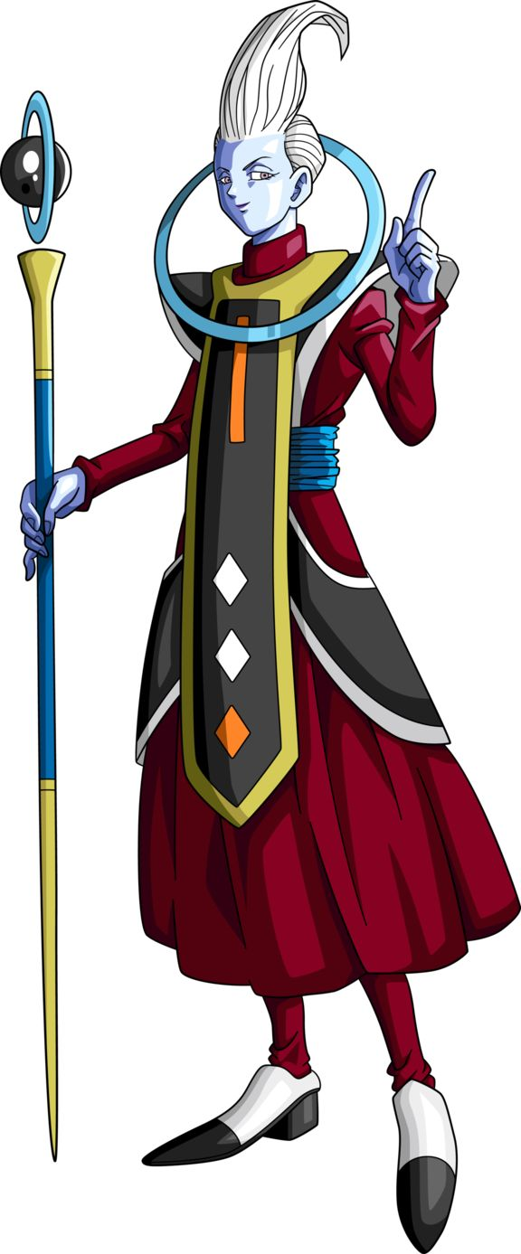 Whis - Angel Guardian del Universo 7 - DRAGÓN BALL SUPER
