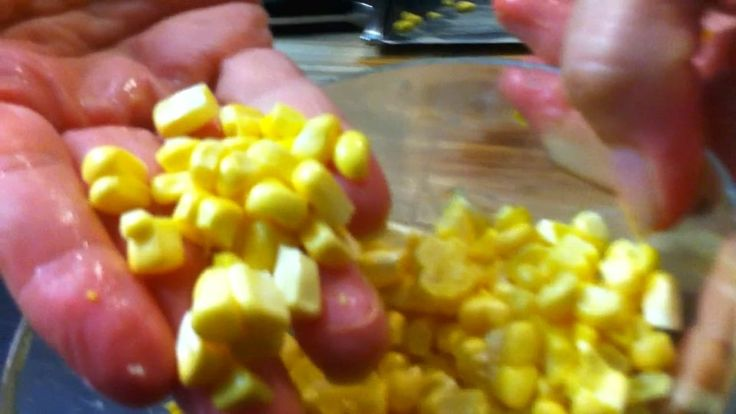 Here is a quick video on how to cut fresh corn off the cob! Check it out!