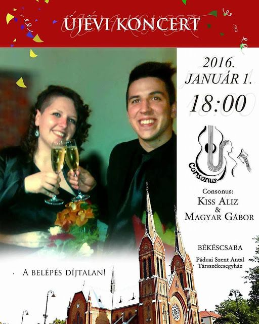 Plakat104.hu: Újévi koncert Békéscsabán