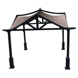 I have wanted this for so long! Allen + Roth 10' x 10' gazebo at Lowes