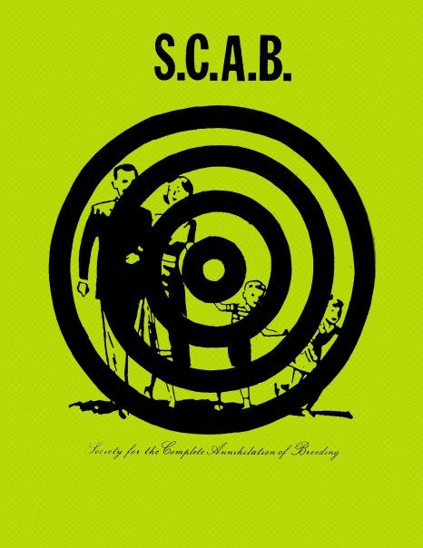 SCAB (Society for the Complete Annihilation of Breeding) Pamphlet, 1990.