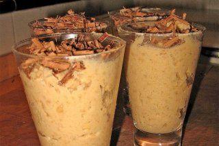 Mousse de castañas - Receta