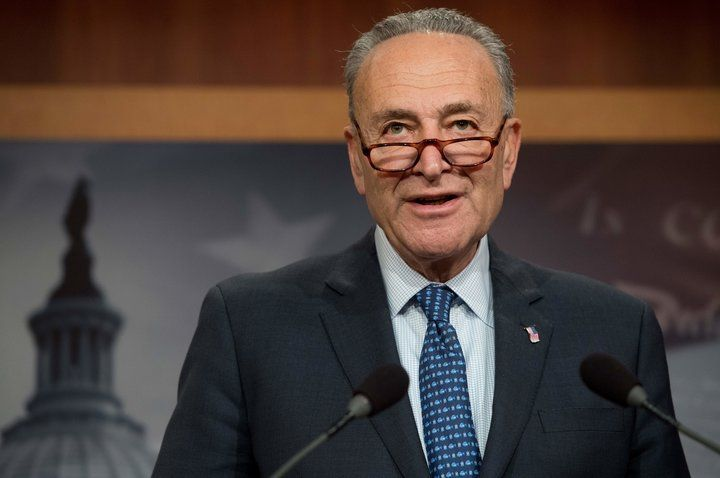 """Chuck Schumer Calls Police Over Forged Sexual Harassment Document The senator's office and a former staffer have said the document is fake and the allegations in it are """"completely false."""" 