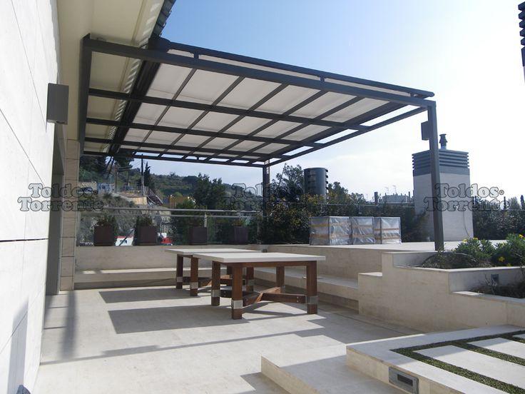 Toldos para terraza planos de veranda project atic l s for Toldos para patios