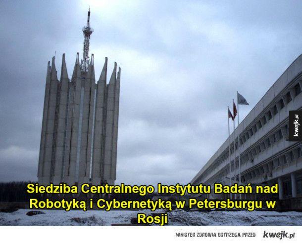 Niezwykłe budowle z ery ZSRR