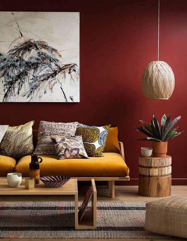 15 Colores Que Combinan Con El Color Mostaza En Paredes Y Decoracion Mil Ideas De Decoracion Living Room Red Home Decor Bedroom Living Room Color