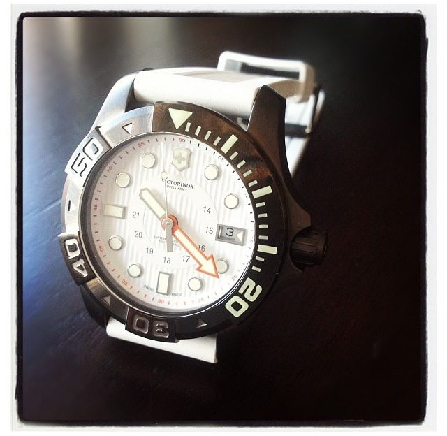 Our new white Dive Master. Repin if you like!
