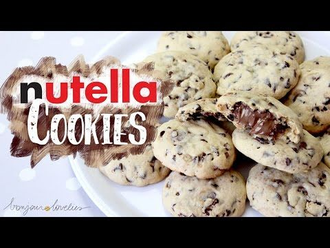 Best NUTELLA Chocolate Chip COOKIES Recipe EVER ∆ | by a French Girl - YouTube