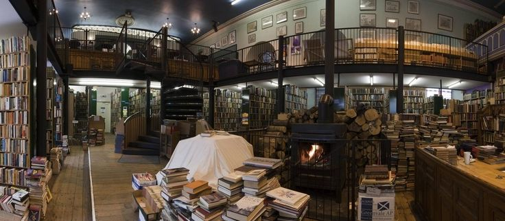 """<b>Mark Twain said, """"In a good bookroom you feel in some mysterious way that you are absorbing the wisdom contained in all the books through your skin, without even opening them.""""</b> Mark Twain would have lost his mind if he saw these places."""