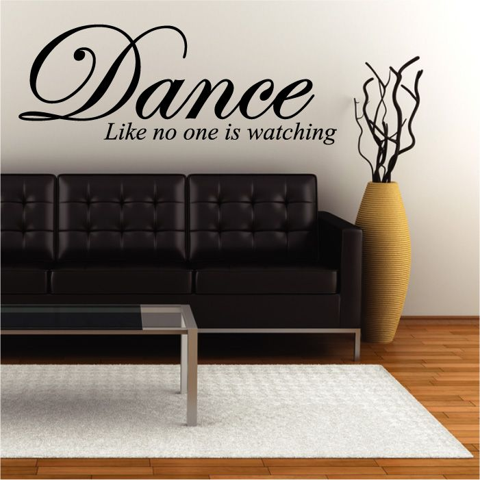 Dance Wall Quote Sticker Part 54