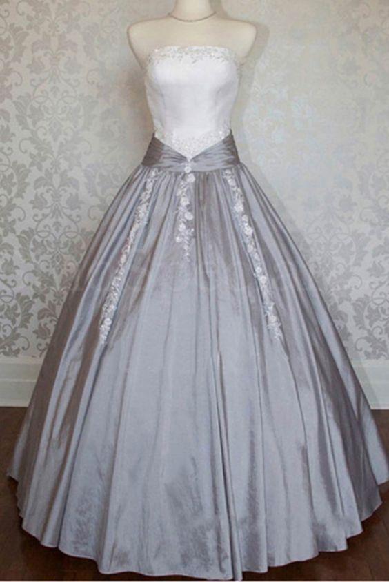 puffy prom dress, long prom dress,wedding dresses,PD45825 #promdresses #fashion #shopping #dresses #eveningdresses