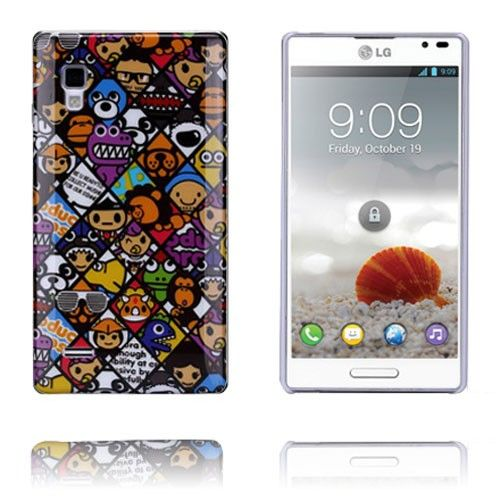 Graffiti (Funny) LG Optimus L9 Cover