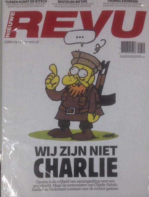 Wij zijn niet Charlie