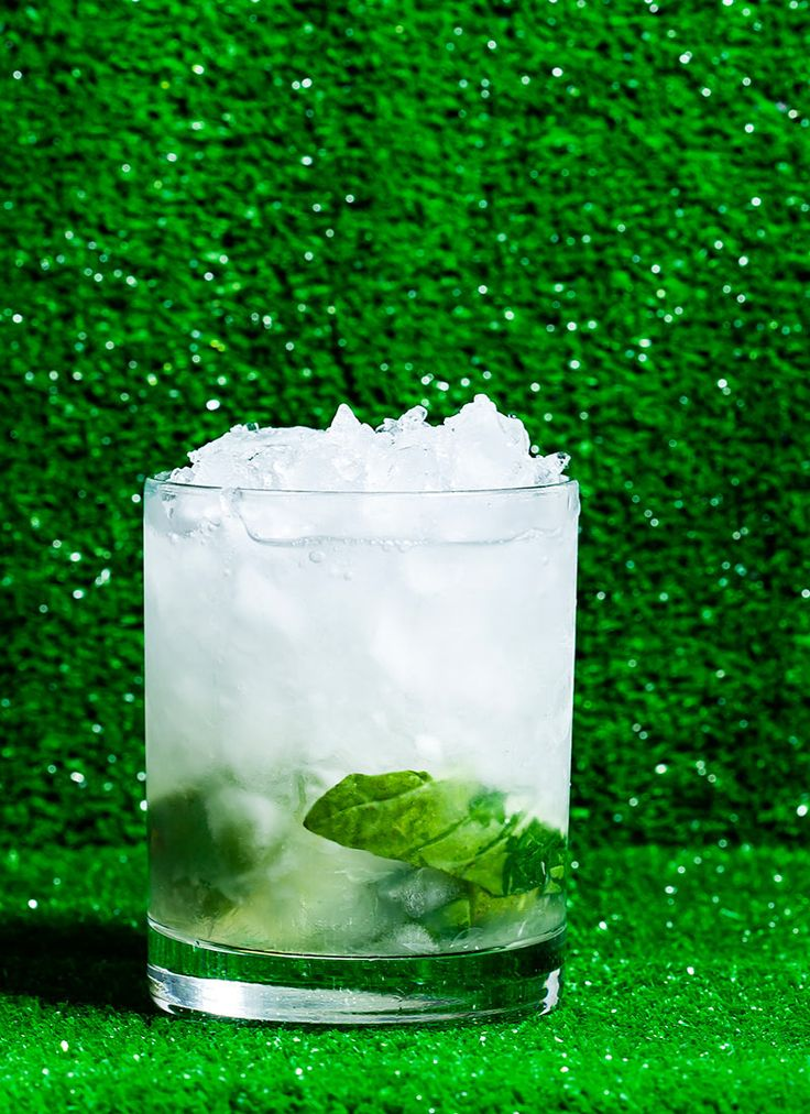 The Basilinia: Light and fragrant, this easy-sipping twist on the Caipirinha with basil was made for summer afternoons.