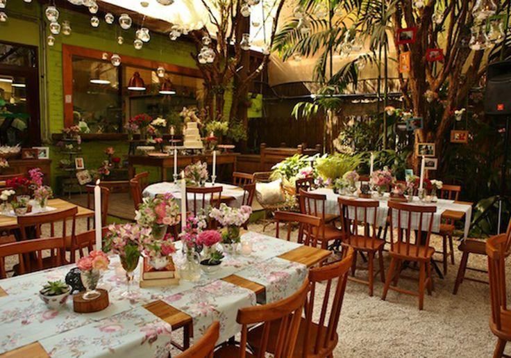 Restaurantes e bistrôs para mini weddings intimistas