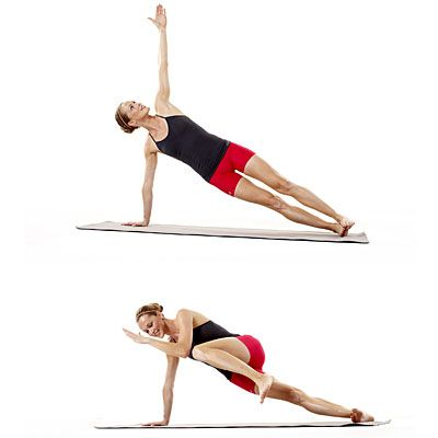 These side planks—part of our 10-minute strength workout—will punish your abs. In a good way!