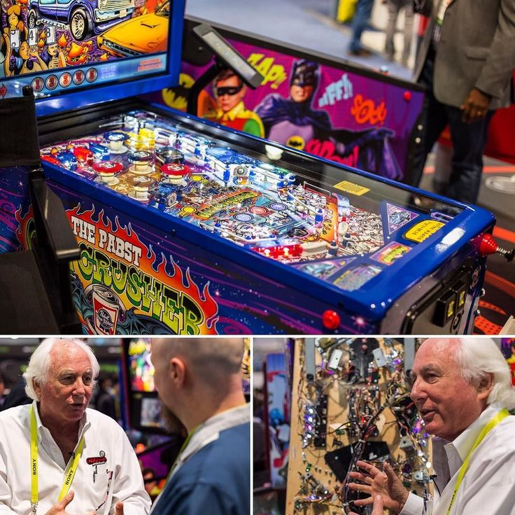 Attention pinball wizards: the Stern Pinball booth at #CES2017 is amazing! We also visited the Las Vegas Pinball Hall of Fame so be on the look out for that video coming coming soon!