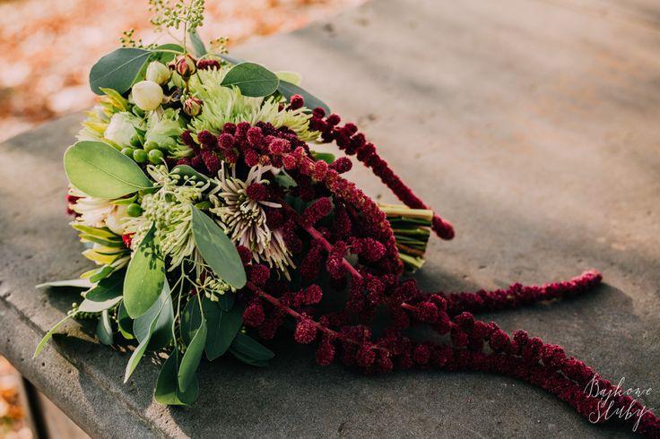 wedding / wedding bouquet / ślubny /  fot. Bajkowe Śluby