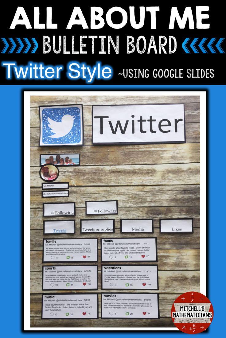 25+ best Twitter Bulletin Boards ideas on Pinterest ...