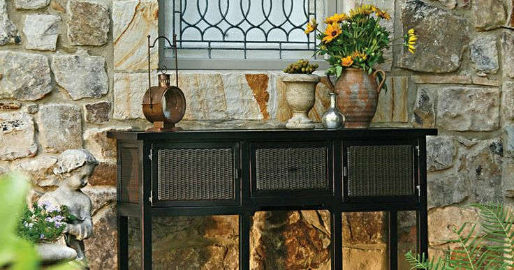 Outdoor Wicker Buffet Table WoodWorking Projects amp Plans