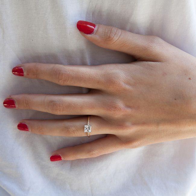 Anna Sheffield - Hazeline Princess Ring