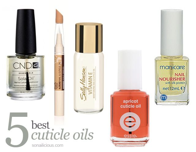 5 best cuticle oils for picture perfect cuticles! Click through for more info.