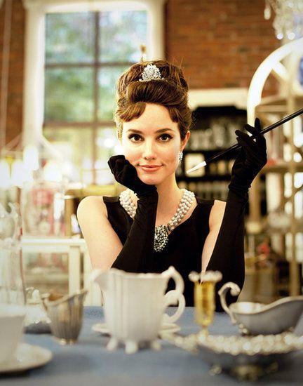 Audrey Hepburn costume #halloween http://www.glossybox.com/