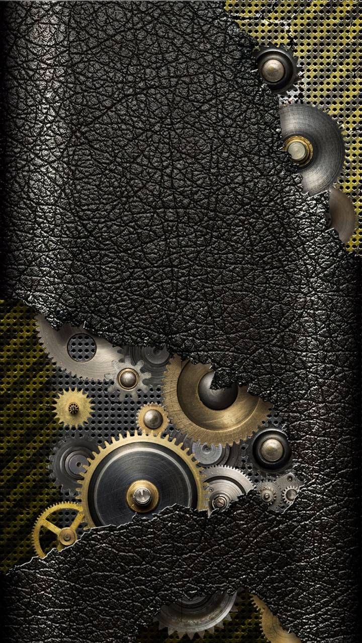 Download Leather Gears Wallpaper By Arsi26 A1 Free On Zedge Now Browse Millions Of Popular Black Wal In 2021 Steampunk Wallpaper Gear Wallpaper Android Wallpaper