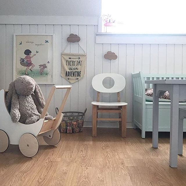 Everyday truly is an adventure. Where can your child go with a toy pram and a little imagination? Wishing you all a lovely weekend! www.ooh-noo.com