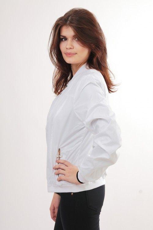 Куртка В507 Размеры: 50 Цвет: белый Цена: 750 руб.  http://optom24.ru/kurtka-v507/ #одежда #женщинам #куртки #оптом24
