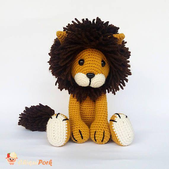 Amigurumi To Go Lion : Best 20+ Crochet Lion ideas on Pinterest Crochet animals ...