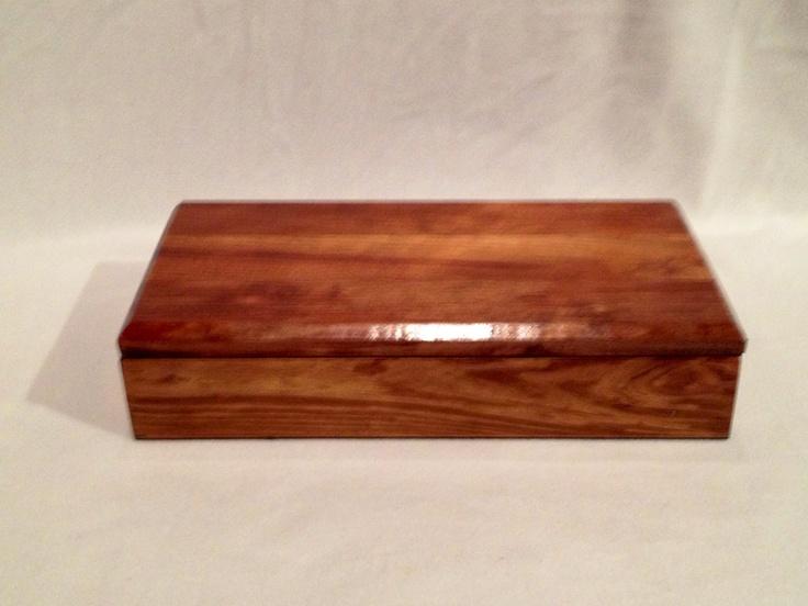 Recycled Timber Keepsake Box.