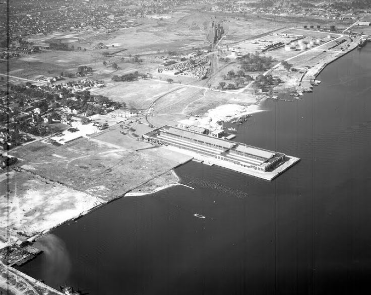 Jacksonville's Ford Assembly Plant circa 1930