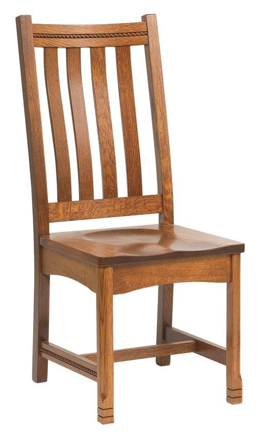 Amish West Lake Mission Dining Chair in 2018 Dining Chairs