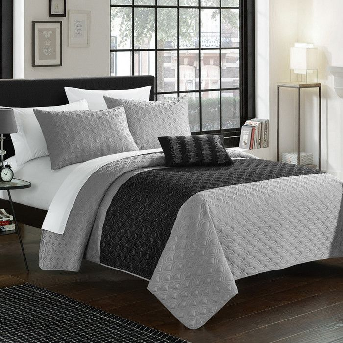 You'll love the Dominic 4 Piece Quilt Set at Wayfair - Great Deals on all Bed & Bath  products with Free Shipping on most stuff, even the big stuff.