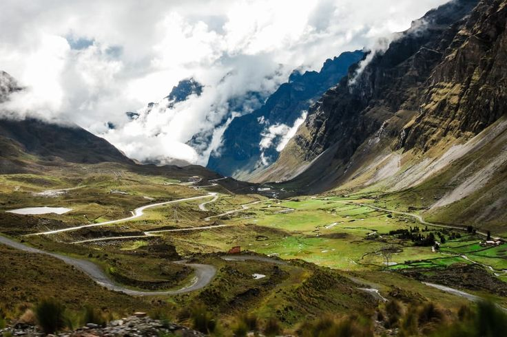 Yungas Road in Bolivia