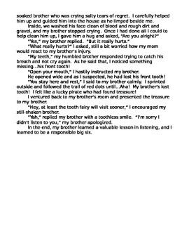 example of sentence outline about bullying