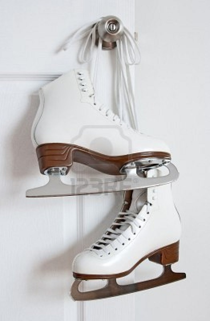 these are ice skating boots, they are persificaliy designed to be worn on ice, you can't wear them on normal flooring as there stiff, theres blade that is under your feet to help balance you as well as hold you up on the ice, this blade is sharp and is dangerous if comes in contact with skin.