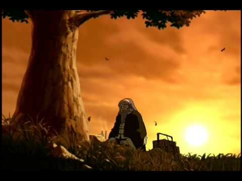 In Honour Of Mako Iwamatsu/Iroh.  Mako Iwamatsu, who voices Uncle Iroh passed away during the production of the Last Airbender.  Mako from Legend of Korra is named after him and this scene from ATLA is a tribute to him.