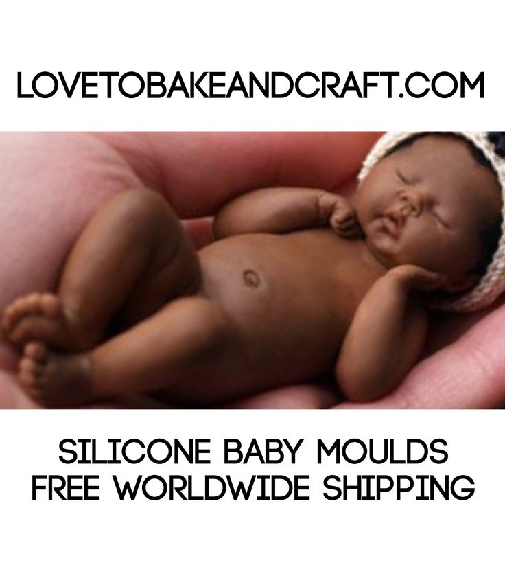 Baby mould, baby MOLD, polymer baby, OOAK baby, baby fairy, lovetobakeandcraft.com