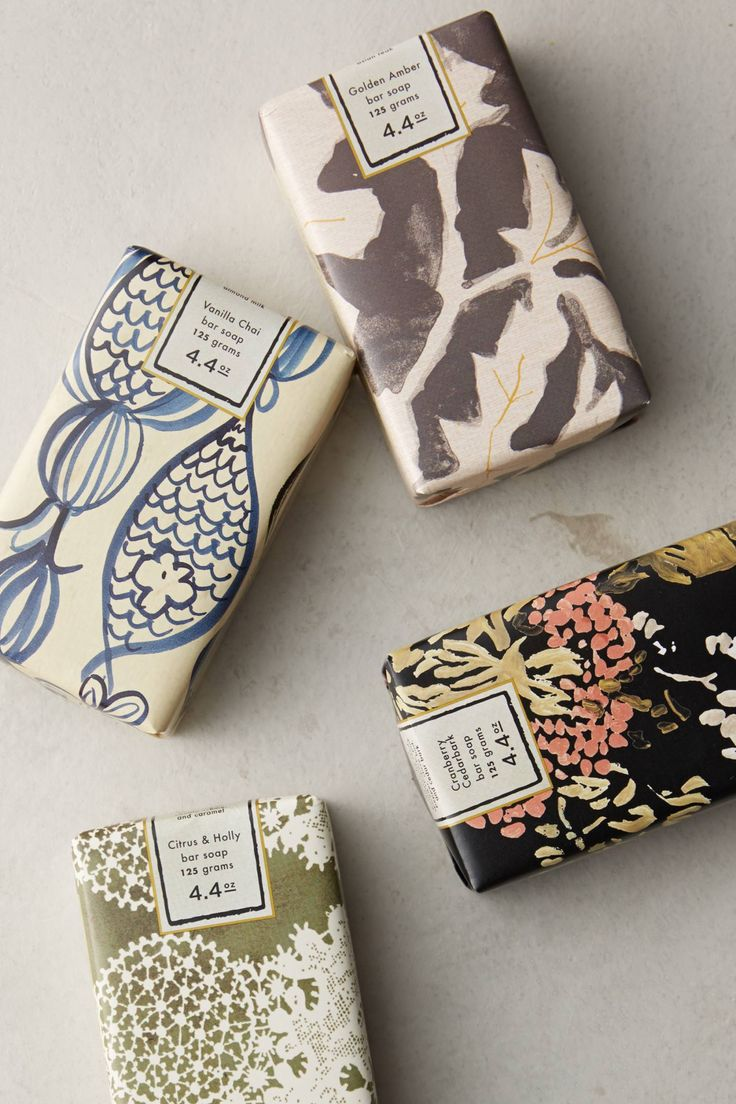 Winter Blooms Soap Bar - anthropologie.com
