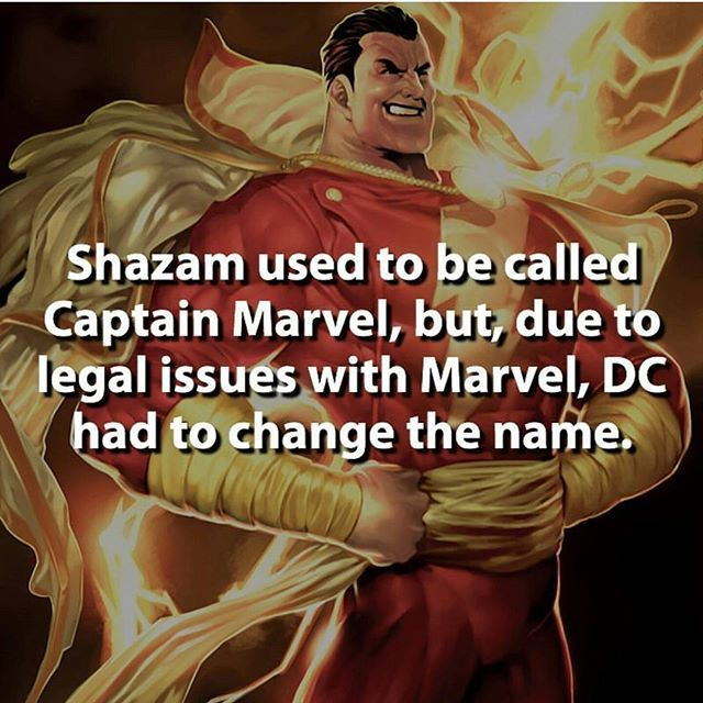 """This is kinda wrong. DC weren't aloud to use the name """"Captain Marvel"""" on the front of any of their comics. But, they could still call him Captain Marvel within the pages of the text. So really there was no legal obligation to change his name, but they did anyway."""