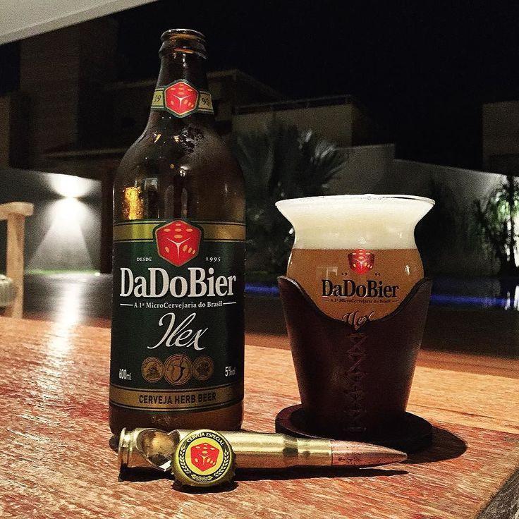 Ilex DaDoBier Estilo: Herb Beer Abv: 5% Ibu: 10 Nota:  Porto Alegre  RS -  #craftbeer #cerveza #cerveja #birra #bier #instabeer #ilovebeer #untappd #ratebeer #beeradvocate #beerporn #beerpics #beergasm #brejadodia #gruporockecervejaespecial #bottleopener #dadobier #beersnob #beerme #beergeek #instacerveja #chimarrão by renecontar